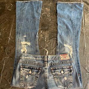 True Religion 'Joey' Jeans flared W30/32L